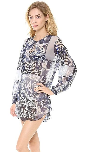 Jean Paul Gaultier Printed Tunic Dress