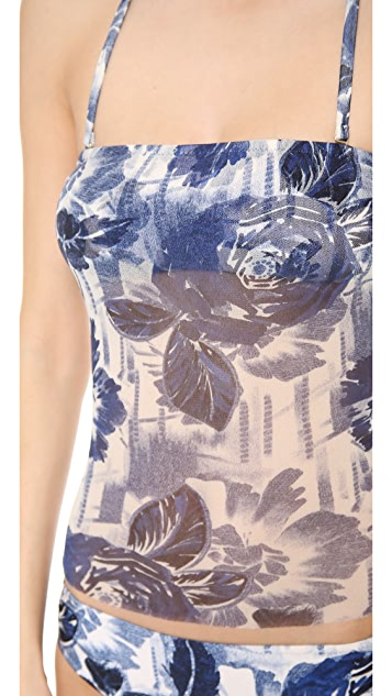 Jean Paul Gaultier Printed Tankini Set