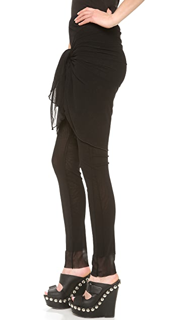 Jean Paul Gaultier Tie Waist Pants