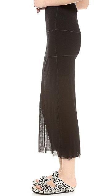Jean Paul Gaultier Long Pencil Skirt