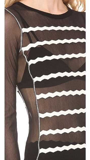 Jean Paul Gaultier Long Sleeve Top