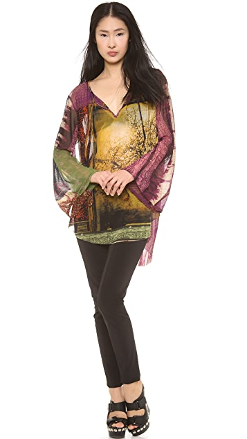 Jean Paul Gaultier Long Sleeve Blouse