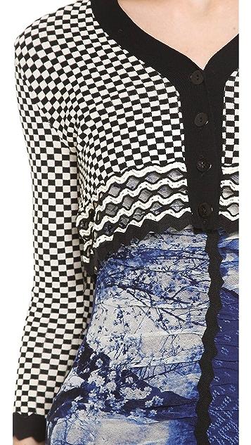 Jean Paul Gaultier Long Sleeve Cardigan