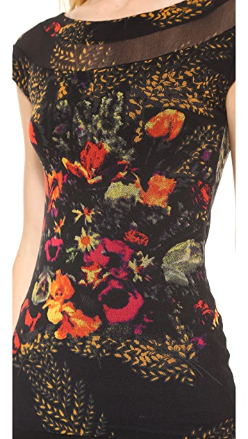 Jean Paul Gaultier Short Sleeve Printed Top