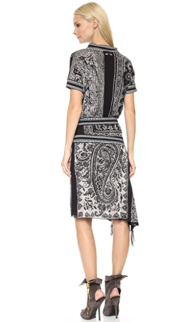 Jean Paul Gaultier Printed Dress
