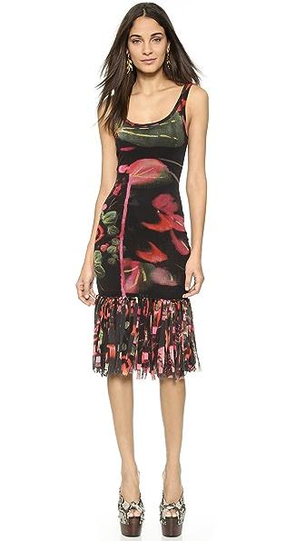 Jean Paul Gaultier Fringe Hem Dress