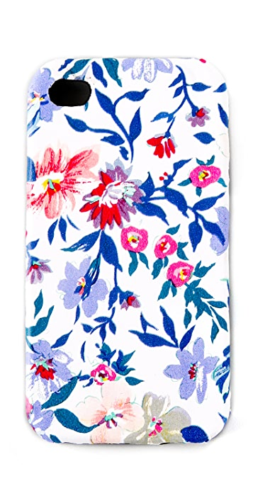 Jagger Edge Floral Leather iPhone Cover