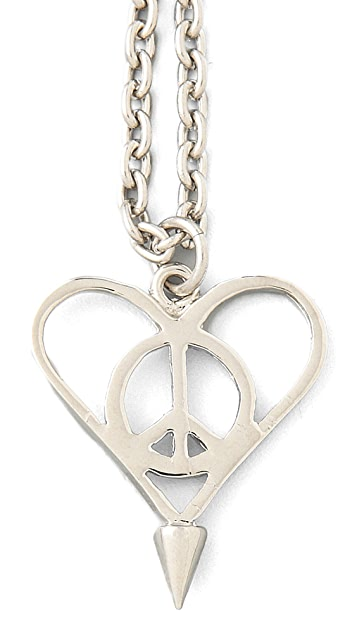 Jagger Edge Peace N Love Charm