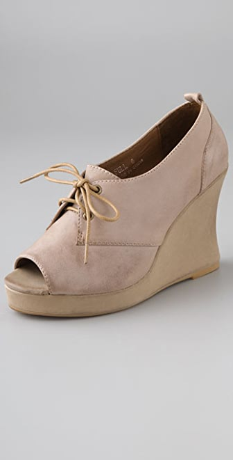 Jeffrey Campbell Full Oxford Wedges