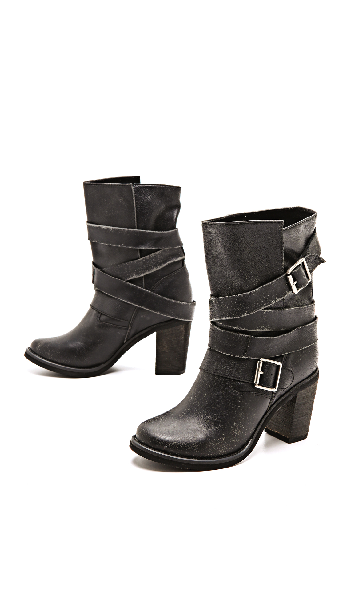 Jeffrey Campbell France Wrap Strap Boots   SHOPBOP