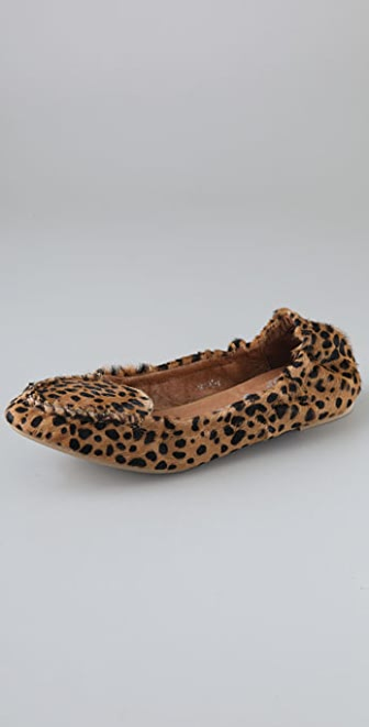 Jeffrey Campbell Hugh Haircalf Moccasin Flats