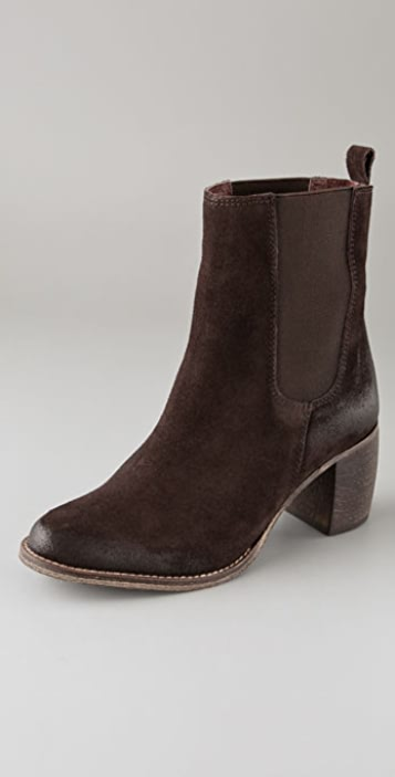 Jeffrey Campbell Areas Suede Booties