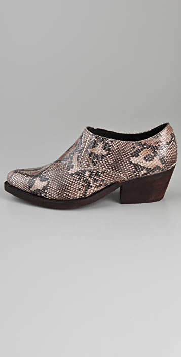 Jeffrey Campbell Arizona Python Booties