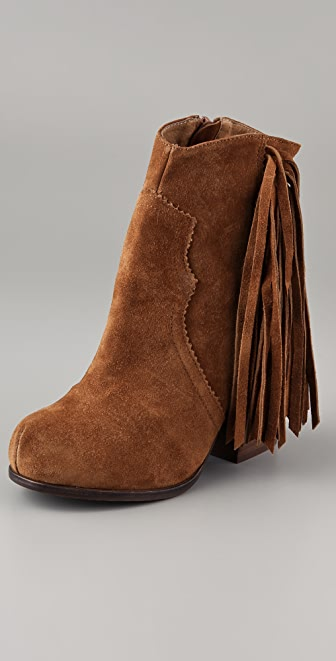 Jeffrey Campbell Prance Fringe Booties