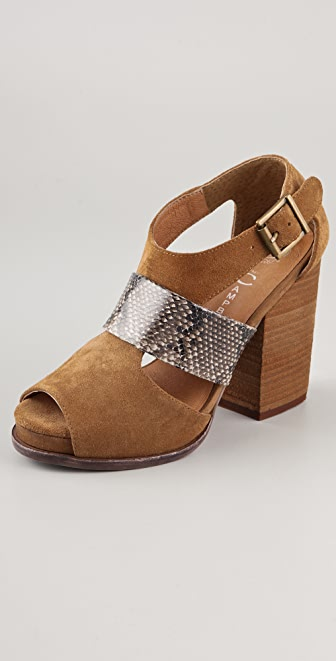 Jeffrey Campbell Relay City Suede Sandals