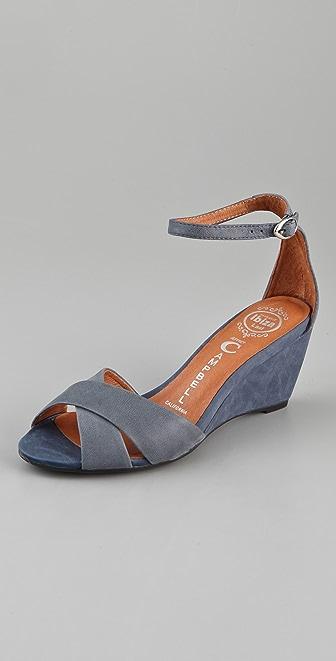 Jeffrey Campbell Trudeau Wedge Sandals