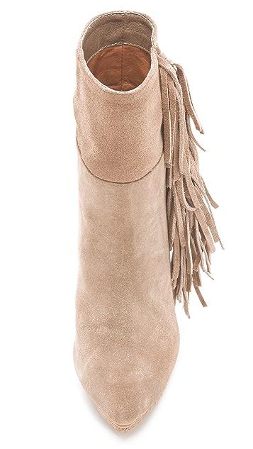 Jeffrey Campbell Taro Fringe Boots