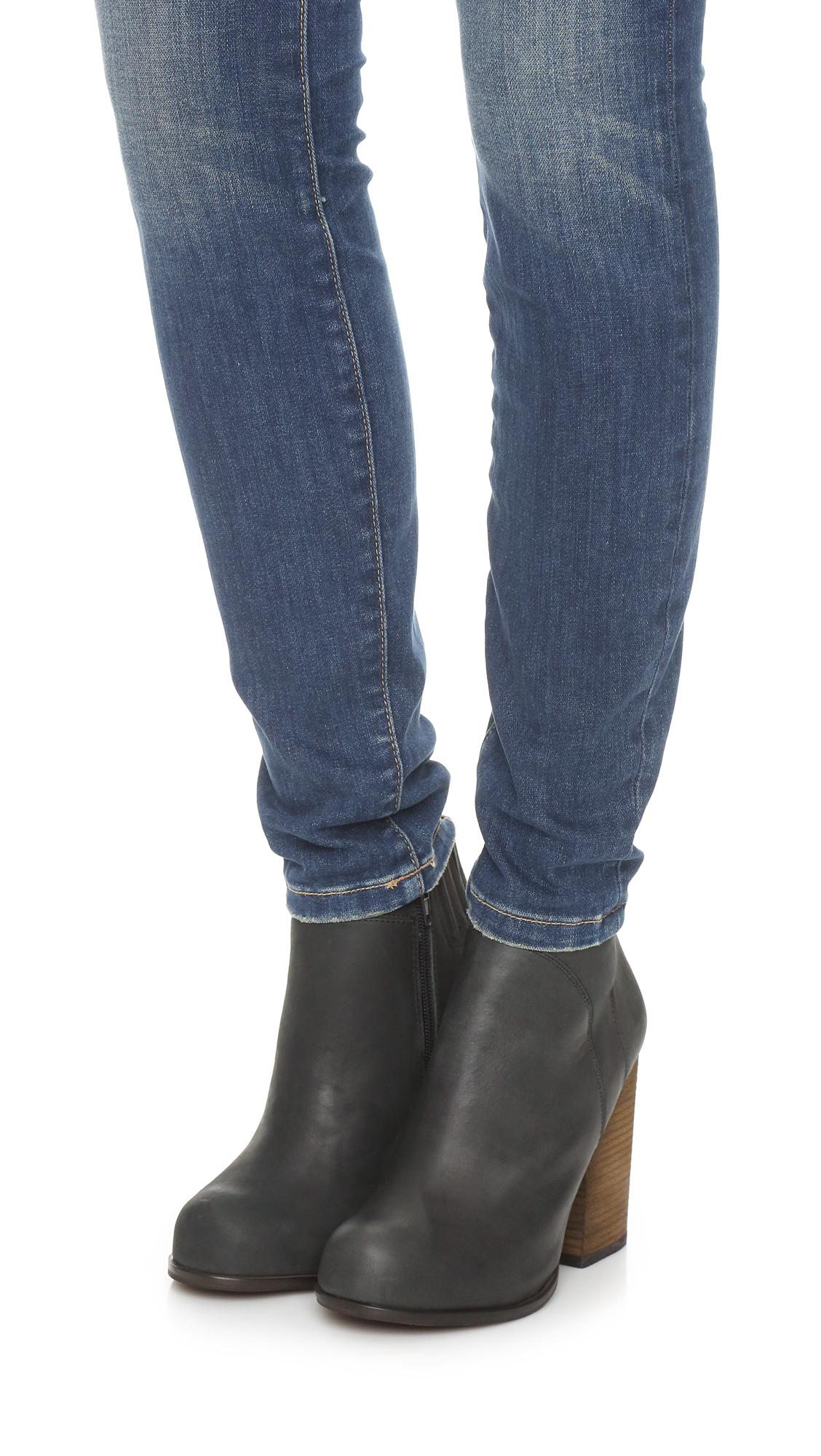 78ebda61e218 Jeffrey Campbell Hanger Leather Booties