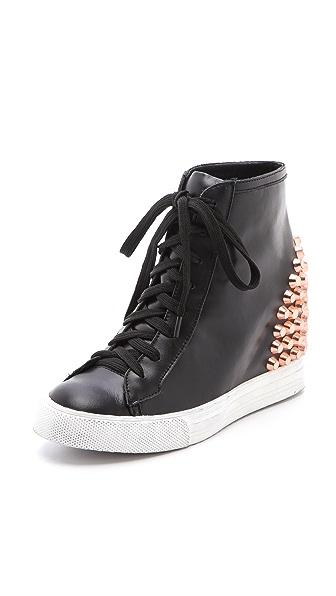 Jeffrey Campbell Edea Stud Wedge Sneakers