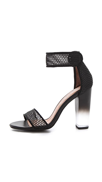Jeffrey Campbell Hough Mesh Sandals