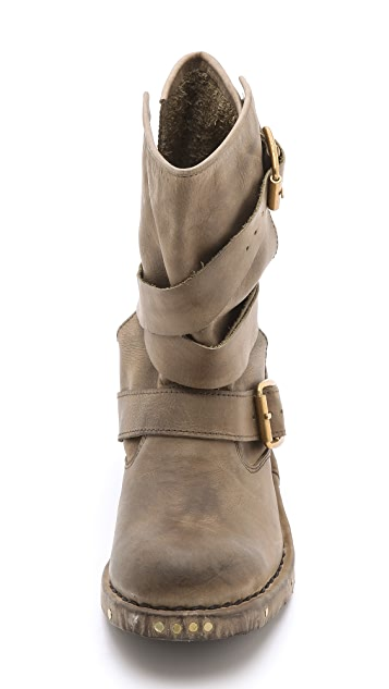 Jeffrey Campbell Brit Wrap Booties