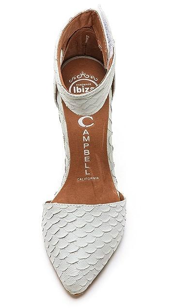 Jeffrey Campbell Soltair Ankle Strap Pumps