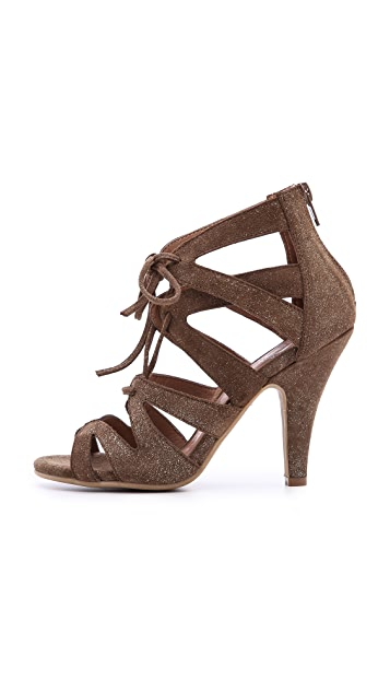 Jeffrey Campbell Laramie Lace up Sandals