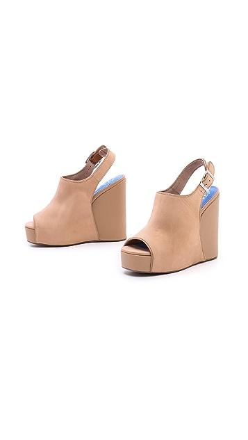 Jeffrey Campbell Smug Platform Wedge Sandals