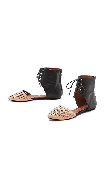 Jeffrey Campbell Luv Ankle Cuff Flats