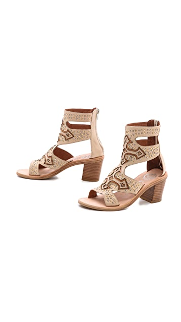 Jeffrey Campbell Cruzar Embellished Sandals