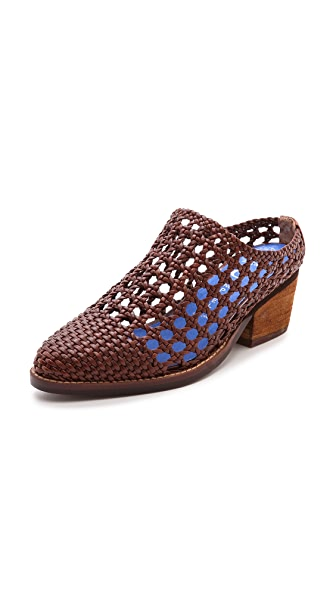 Jeffrey Campbell Armadillo Woven Mules