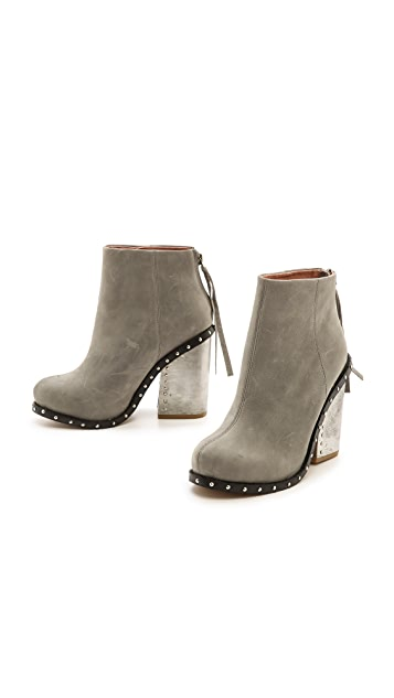 Jeffrey Campbell Reverb Chunky Heel Booties