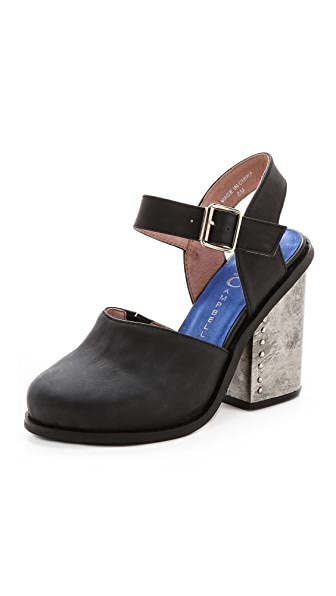 Jeffrey Campbell Bonshe Chunky Heel Mary Janes