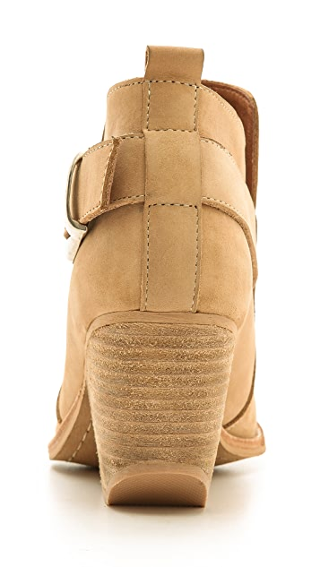 Jeffrey Campbell Jonas Short Buckle Western Booties