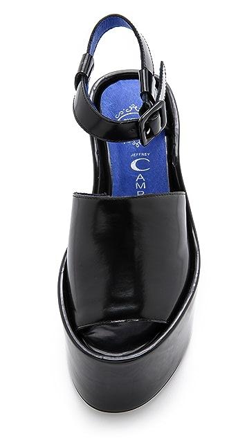 Jeffrey Campbell Chynna Flatform Sandals