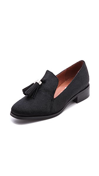 Jeffrey Campbell Lawford Tassel Haircalf Loafers