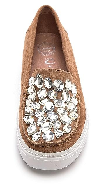Jeffrey Campbell Skip Jewel Slip On Sneakers