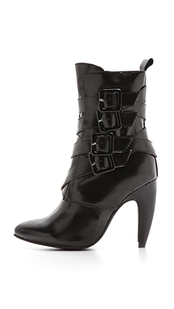 Jeffrey Campbell Destroyer Buckle Boots