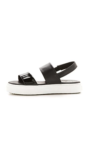 Jeffrey Campbell Adler Two Band Sandals