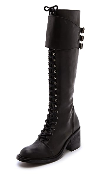 Jeffrey Campbell Tall Combat Boots | SHOPBOP