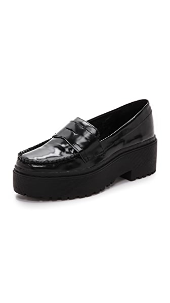 Jeffrey Campbell Dilbert Platform Loafers