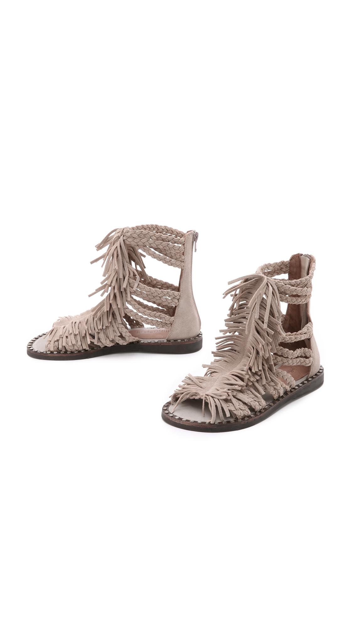 d5b4d8e0334c Jeffrey Campbell Santana Fringe Sandals