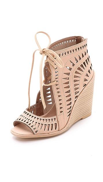 Jeffrey Campbell Rodillo Wedge Sandals