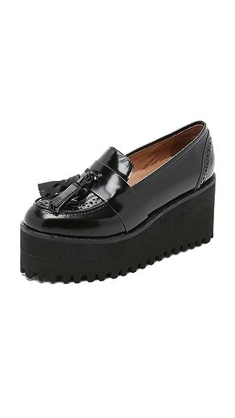Jeffrey Campbell Rogan Platform Loafers