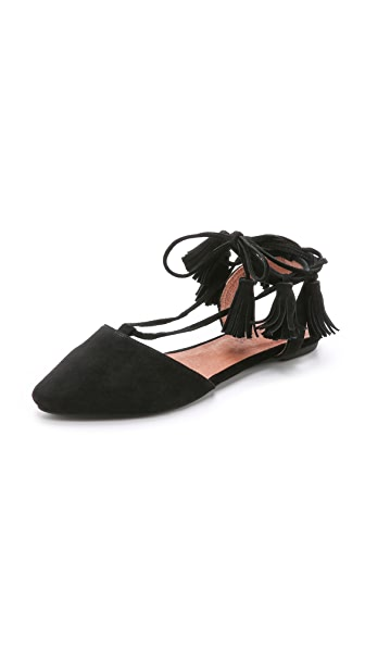 Jeffrey Campbell Amour Suede Flats