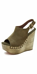 Snick Wedge Sandals                Jeffrey Campbell