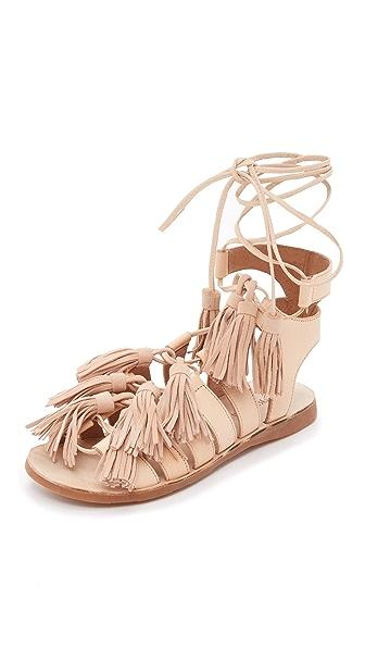 Jeffrey Campbell Malang Fringe Sandals