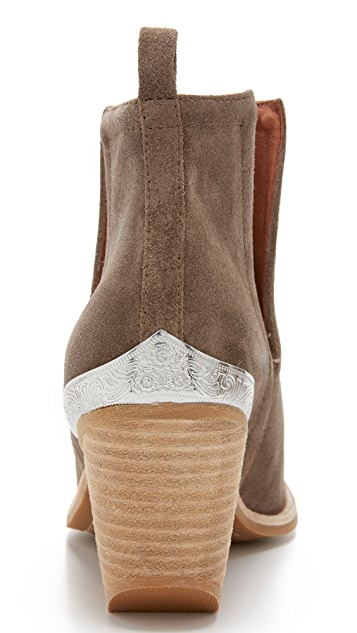 Jeffrey Campbell Cromwell Suede Booties