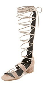 Bryndis Lace Up Sandals                Jeffrey Campbell