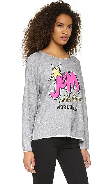 Jem and the Holograms Wildfox World Tour Sweatshirt